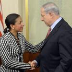 NSC adviser Susan E. Rice visit to Israel