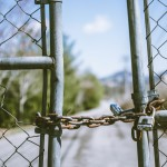 barrier-chain-chain-link-fence